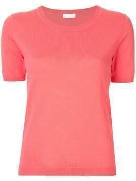 Ballsey knitted scoop neck top - Pink