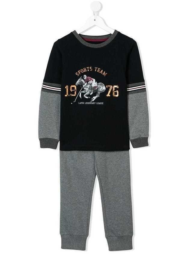 Lapin House sports team tracksuit - Blue