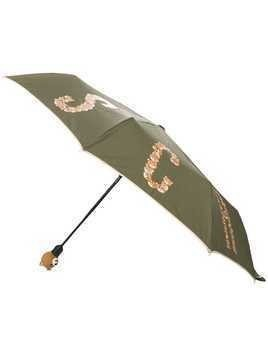 Moschino Toy Bear umbrella - Green