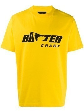 Botter logo print t-shirt - Yellow