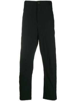 Forme D'expression plain straight trousers - Black