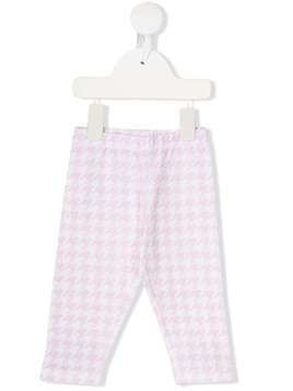 Monnalisa houndstooth trousers - Pink
