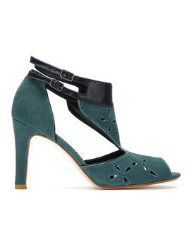 Sarah Chofakian suede ankle boot - Green