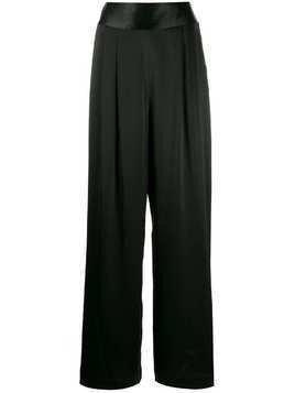 Tory Burch wide-leg trousers - Black