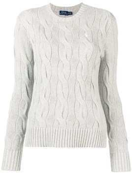 Polo Ralph Lauren cable knit sweater - Grey