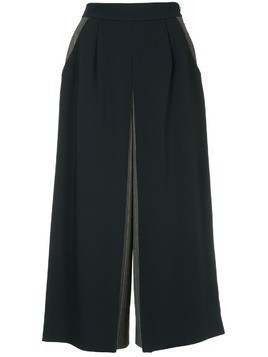 Guild Prime cropped culotte trousers - Blue
