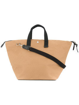 Cabas medium bowler bag - Brown