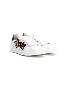 Am66 Love low-top sneakers - White