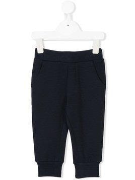 Diesel Kids elasticated waist track pants - Blue
