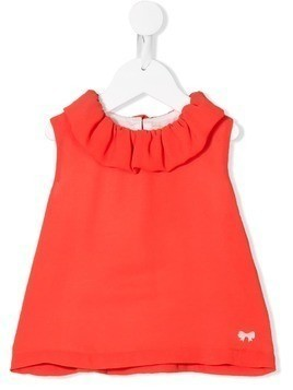 Hucklebones London sleeveless flared top