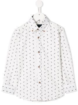 Harmont & Blaine Junior dog print shirt - White