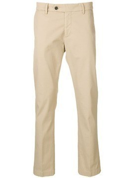 Al Duca D'Aosta 1902 straight-leg trousers - Neutrals
