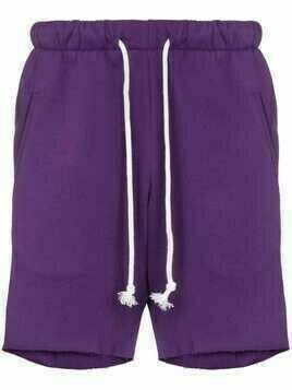 DUOltd drawstring jogging shorts - Purple