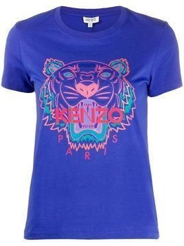 Kenzo Holiday Capsule tiger T-shirt - Blue