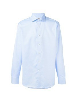 Canali buttoned shirt - Blue