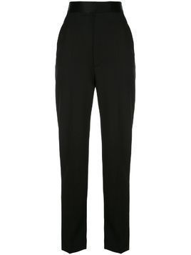 Haider Ackermann high-waist tailored trousers - Black