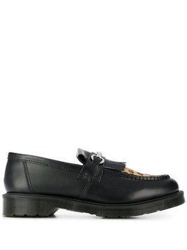 Dr. Martens leopard toe loafers - Black