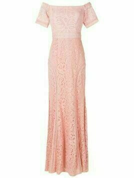 Martha Medeiros Ramona evening dress - Pink