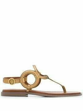 See by Chloé Kenya flat sandals - Gold