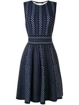 Antonino Valenti flared midi dress - Blue