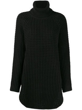 Hope oversized turtleneck jumper - Black