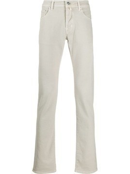 Jacob Cohen straight leg denim jeans - Grey