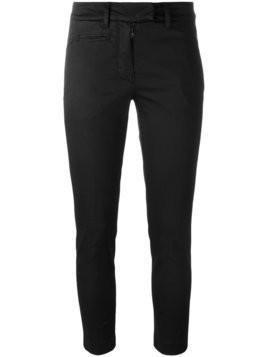 Dondup cropped skinny trousers - Black