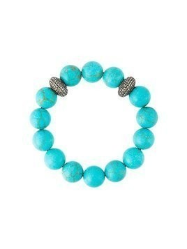 Gemco diamond ball bead bracelet - Blue