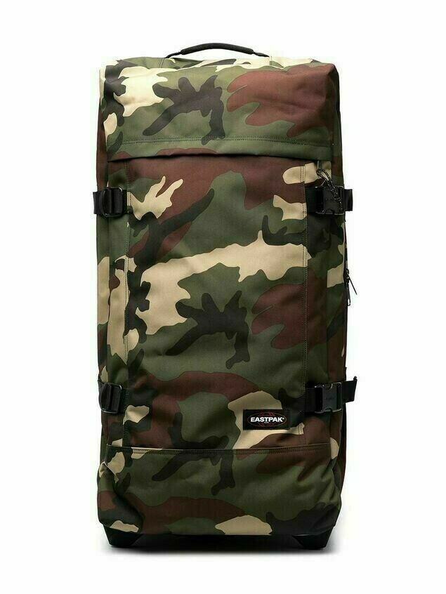 Eastpak camouflage-print zip-up holdall - Green