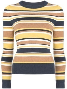 JoosTricot striped knit top - Yellow