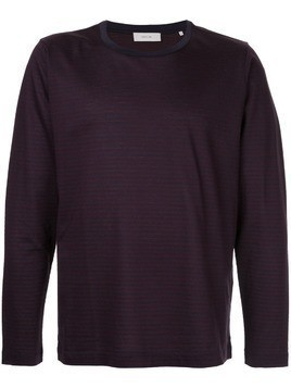Cerruti 1881 long sleeve stripe T-shirt - Red