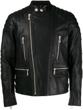Belstaff fitted leather jacket - Black