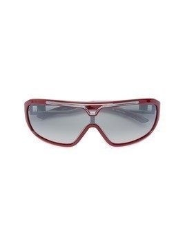 Jean Paul Gaultier Vintage cut-out detail sunglasses - Red