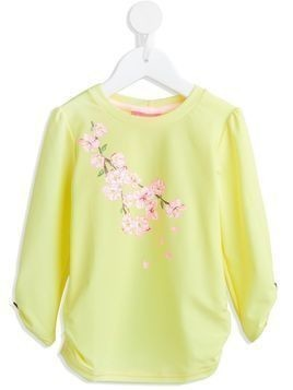 Sunuva blossom rash vest - Yellow & Orange