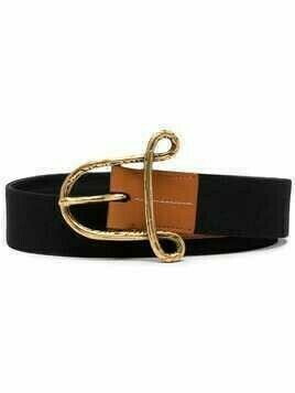 Altuzarra A buckle belt - Black