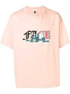 Facetasm graphic T-shirt - Pink