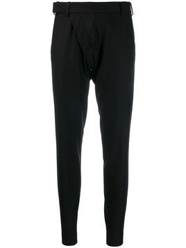 Aganovich slim-fit tailored trousers - Black