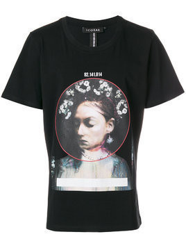 Icosae printed T-shirt - Black