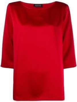 Gianluca Capannolo loose fit blouse - Red