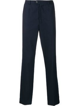 Pringle Of Scotland slim-fit wool trousers - Blue
