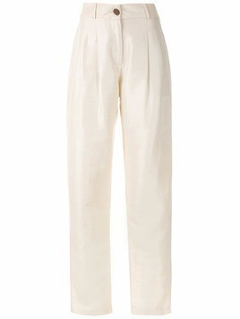 Isolda Apple trousers - White
