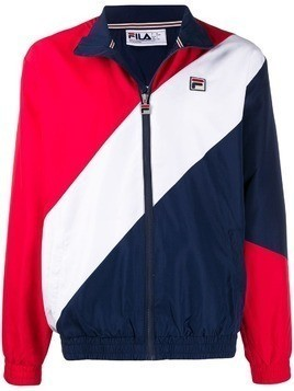 Fila diagonal stripe track jacket - Blue