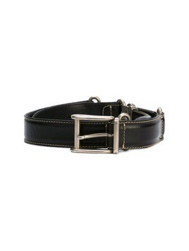 Jean Paul Gaultier Vintage metal rope detail belt - Black