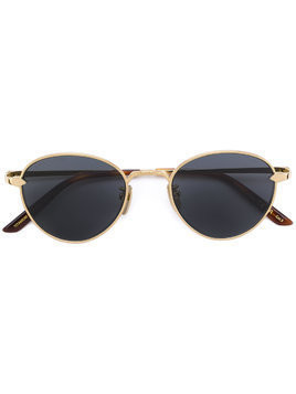 Gucci Eyewear round tinted sunglasses - Metallic