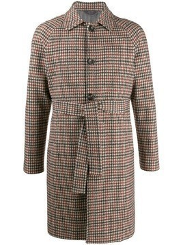 Circolo 1901 houndstooth pattern coat - Green