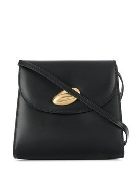 Little Liffner stone clasp shoulder bag - Black