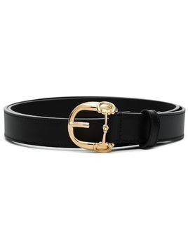 Gucci Horsebit buckle-fastening belt - Black
