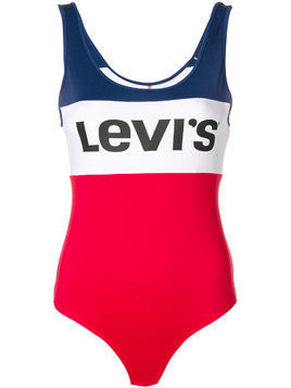Levi's colour block bodysuit - Red