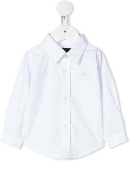 Harmont & Blaine Junior plain formal shirt - White