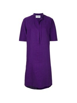 Gianfranco Ferre Vintage short tunic dress - Pink&Purple
